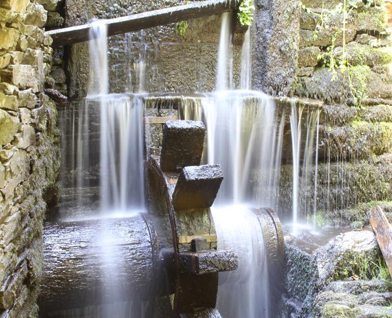 Cascada Mazo Santa Comba